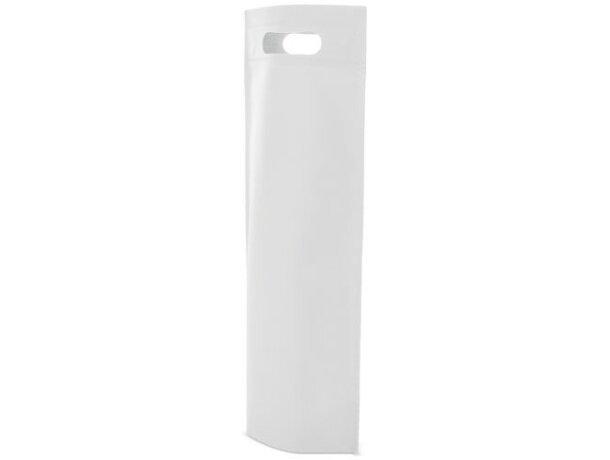 Bolsa de non woven para botella blanco