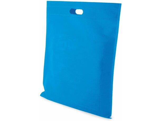 Bolsa de non woven 40 x 45 cm grabada azul