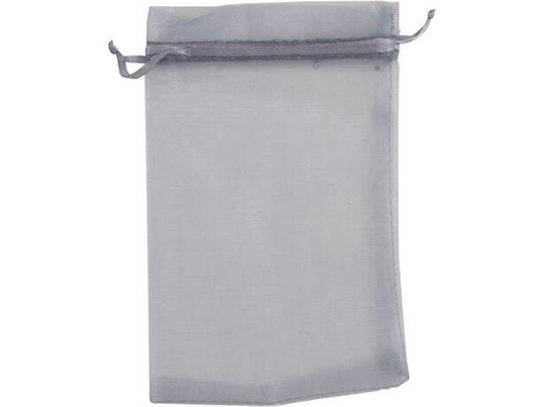 Bolsa de organza para detalles varios colores plata