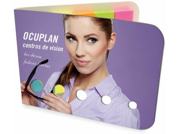 Estuche con marcadores a todo color personalizado