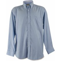 Camisa estilo náutico de hombre azul