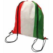 Bolsa mochila con cuerdas con bandera de Italia