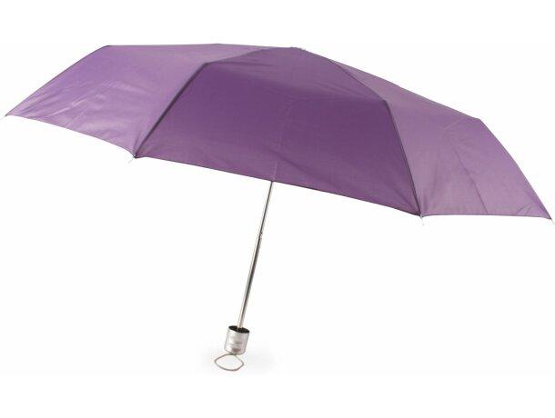 Paraguas Plegable de mano personalizado lila