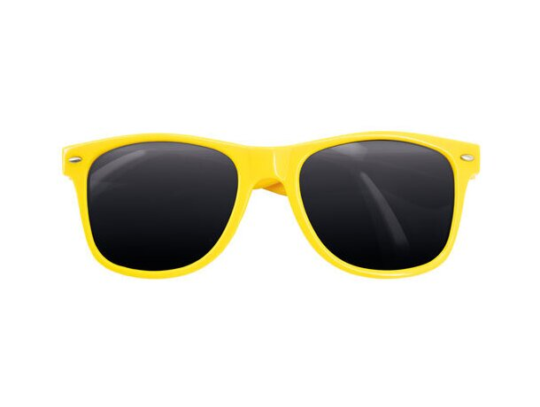 Gafas de sol pvc 400 uv amarilla