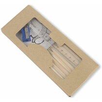 Caja con lápices de colores y libro para colorear personalizada