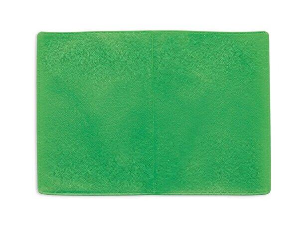 Tarjetero doble con dos bolsillos verde