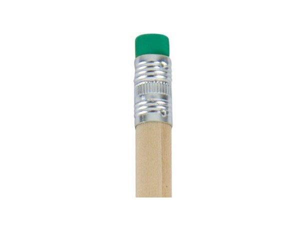 Lápiz de madera con goma de color personalizado