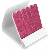 Estuche de limas de uñas personalizado fucsia