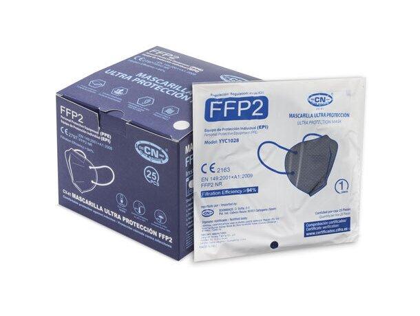 Mascarilla ultra proteccion de colroes ffp2 azul marino