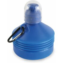 Botella extensible de 500 ml personalizada azul