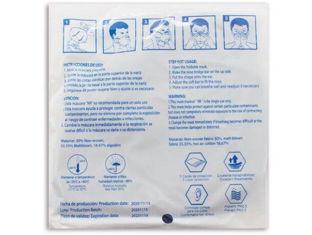 Mascarilla ultra proteccion de colroes ffp2 negro