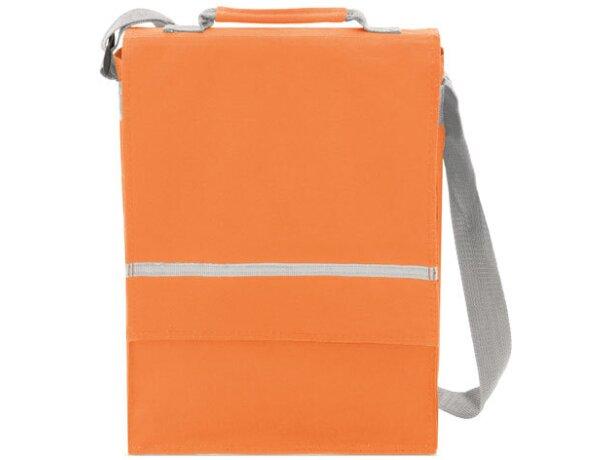 Bolsa de congresos para carpetas y libros naranja