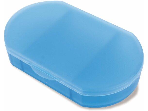 Pastillero de bolsillo en colores azul barato