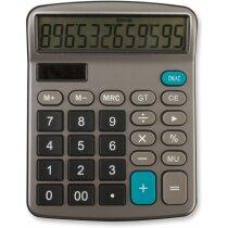 Calculadora profesional de 12 dígitos con logo