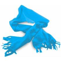 Bufanda de colores para adultos personalizada azul claro