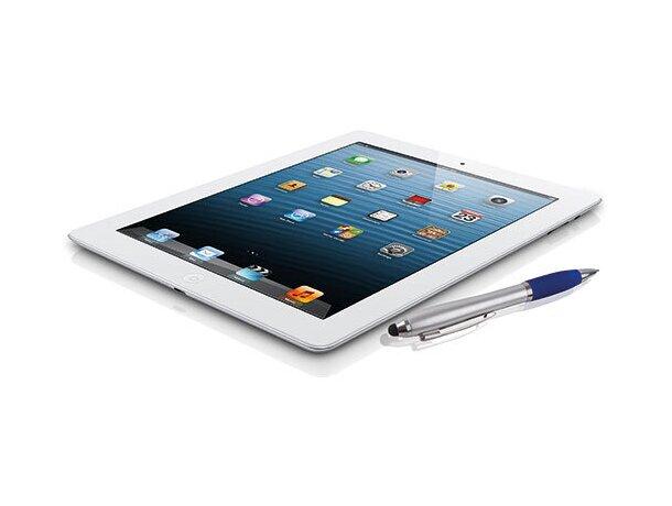 Bolígrafo con puntero para smartphone azul