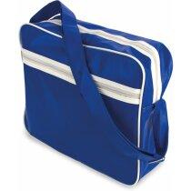 Bolsa retro con forma rectangular personalizada azul