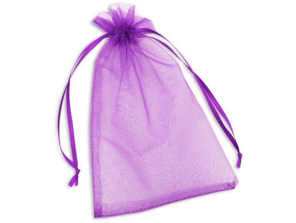 Bolsa de organza para detalles varios colores lila