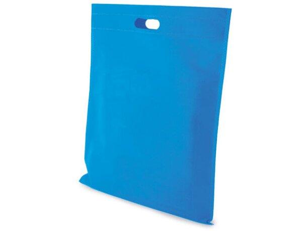 Bolsa de non woven 40 x 45 cm azul