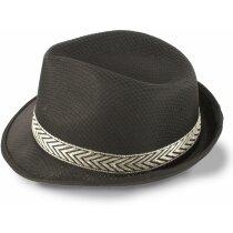 Sombrero acrílico de alta calidad personalizado negro