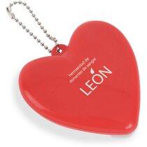 Cepillo plegable con forma de corazón personalizado