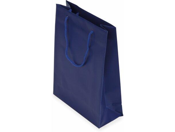 Bolsa de regalo de pvc azul