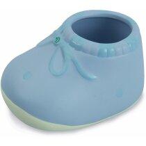 Patuco de cerámica personalizada azul