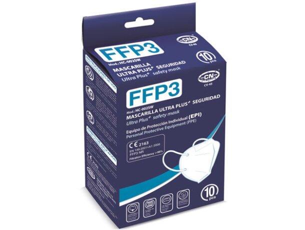 Mascarilla ffp3 ultra plus + seguridad