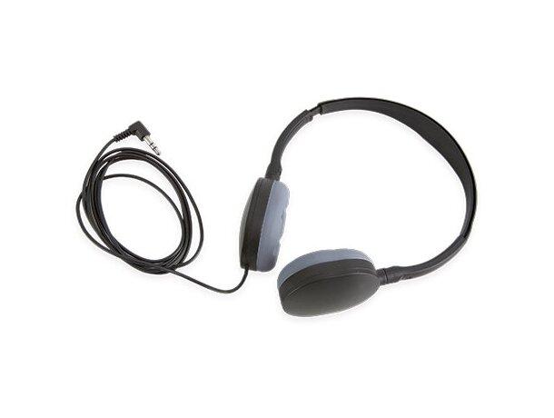Auriculares ajustables negro