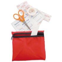 Botiquín de primeros auxilios con 7 piezas personalizado