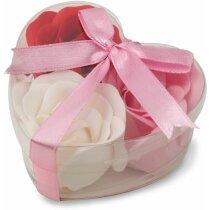 Estuches de jabón corazón personalizado