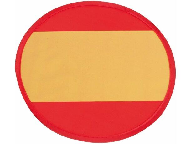 Disco volador plegable con bandera de España personalizado