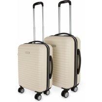 Juego de maletas con 2 trolleys personalizado