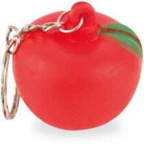 Llavero manzana antiestrés personalizado
