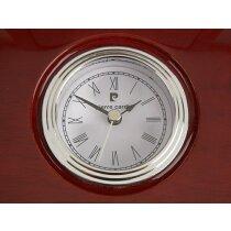 Placa conmemoración con reloj Pierre Cardin personalizada