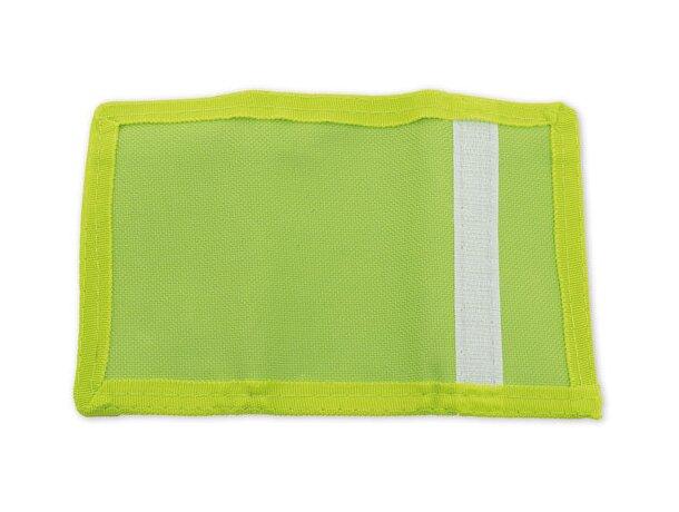 Monedero con llavero especial para moteros verde