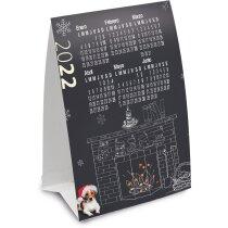 Calendario a todo color sobremesa triangular barato