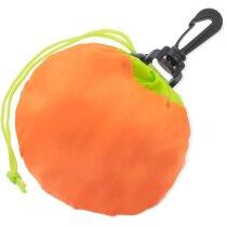 Bolsa plegable con forma de naranja original
