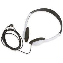 Auriculares en blanco y negro personalizado