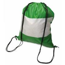 Bolsa mochila con cuerdas con bandera de Andalucía original