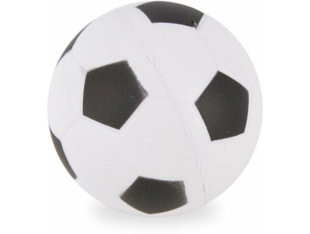 Pelota antiestrés con forma de balón de futbol
