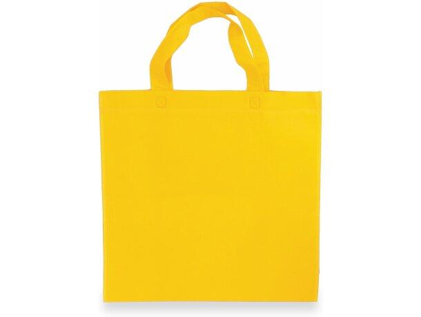 Bolsa de non woven 38 x 35 cm amarilla
