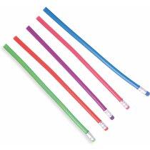 Lápiz de plástico flexible personalizado