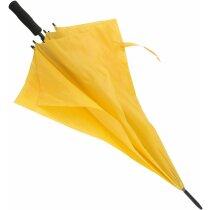 Paraguas de golf económico en colores amarillo grabado