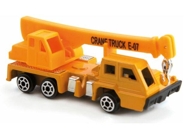 Camión grúa de juguete personalizado
