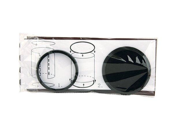 Bote para lápices en plástico negro