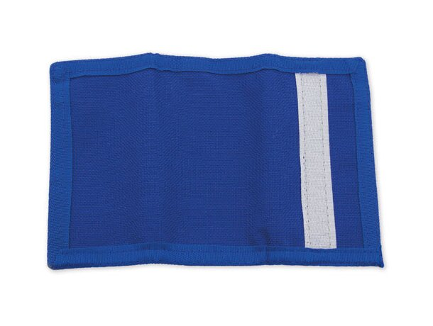Monedero con llavero especial para moteros azul royal