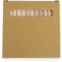Caja para colorear con lápices personalizada