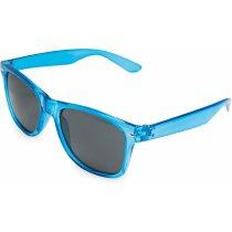 Gafas de sol transparentes azul personalizado