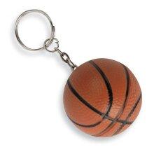 Llavero personalizado antiestrés pelota de baloncesto